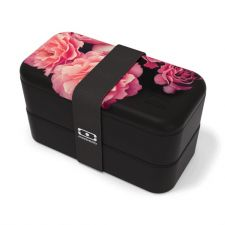 Lunchbox MONBENTO Original Collection - Flower Black (edycja limitowana)