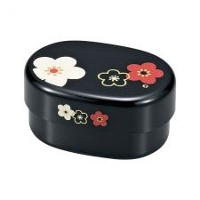 Bento Box Plum Flower OW- czarny