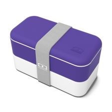 MONBENTO Original Collection - dwupoziomowy bento lunchbox utra violet