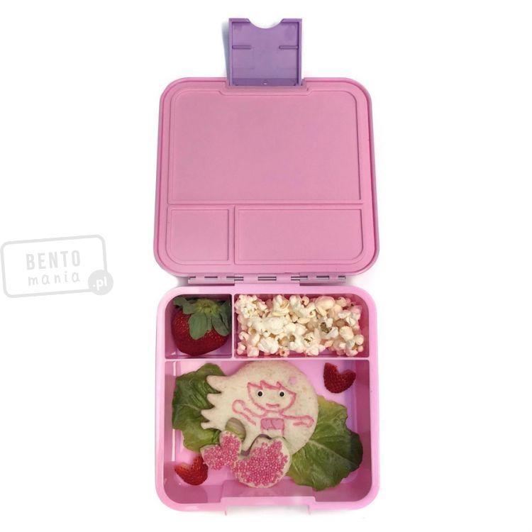 Duży Lunchbox Dla Dzieci Z 3 Przegródkami śniadaniówka Syrenka