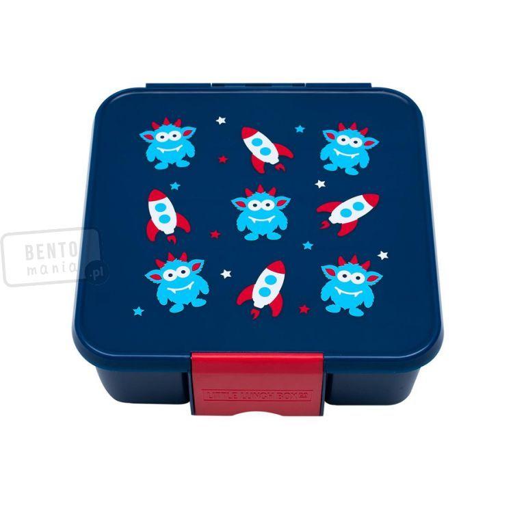 Duży Lunchbox Dla Dzieci Z 3 Przegródkami śniadaniówka Kosmiczny